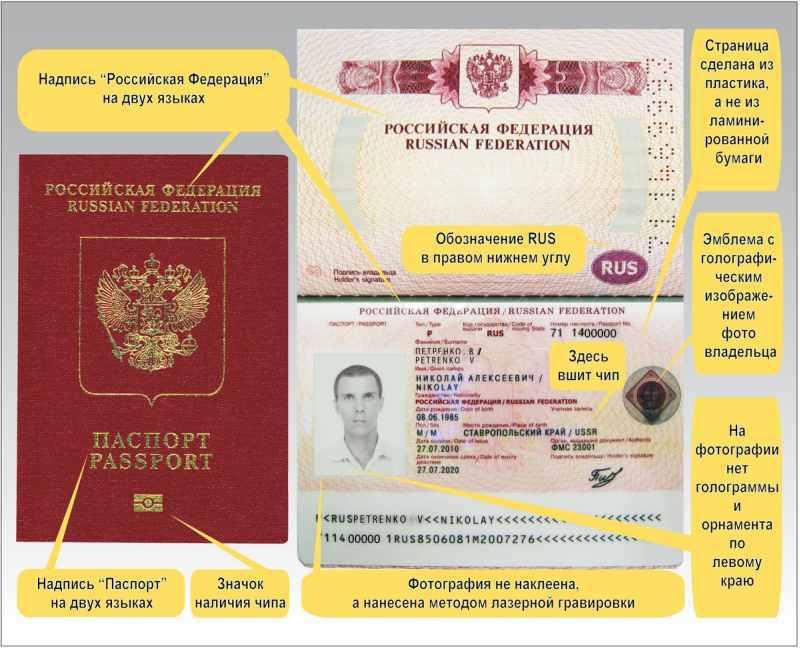 биометрический загранпаспорт нового образца рф