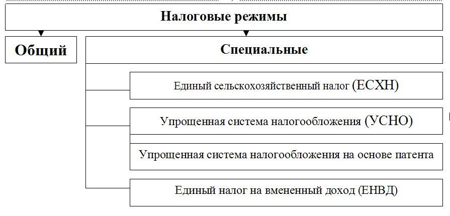 Налоговые режимы в России