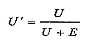 Формула уровня безработицы