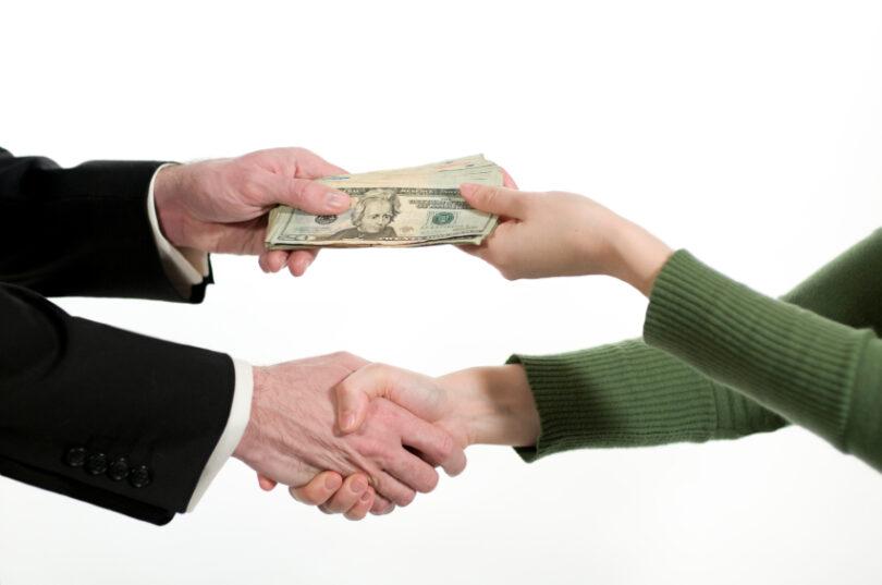 акт приема передачи денежных средств образец