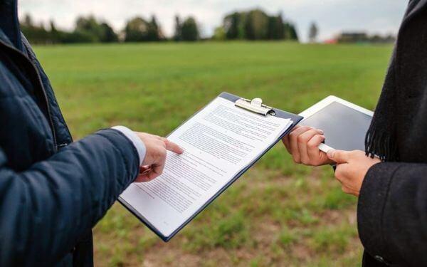 акт приема передачи земельного участка бланк