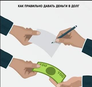 правила расписки